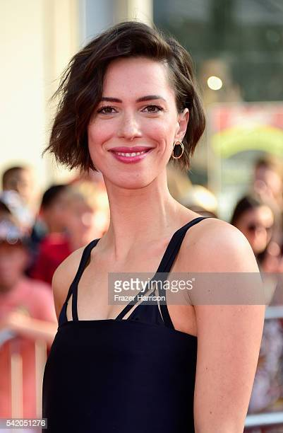 Actress Rebecca Hall attends the Premiere of Disney's The BFG at the El Capitan Theatre on June 21 2016 in Hollywood California