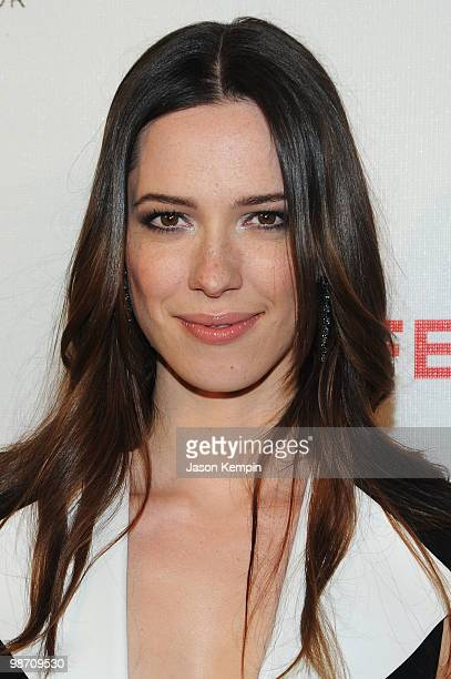 Actress Rebecca Hall attends the premiere of 'Please Give' during the 2010 Tribeca Film Festival at the Tribeca Performing Arts Center on April 27...