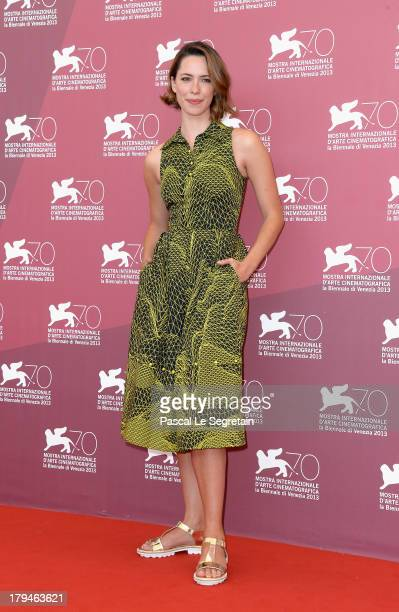 Actress Rebecca Hall attends 'Une Promesse' Photocall during the 70th Venice International Film Festival at Palazzo del Casino on September 4, 2013...