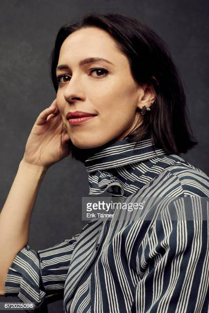 Actress Rebecca Hall from 'Permission' poses at the 2017 Tribeca Film Festival portrait studio on April 22 2017 in New York City
