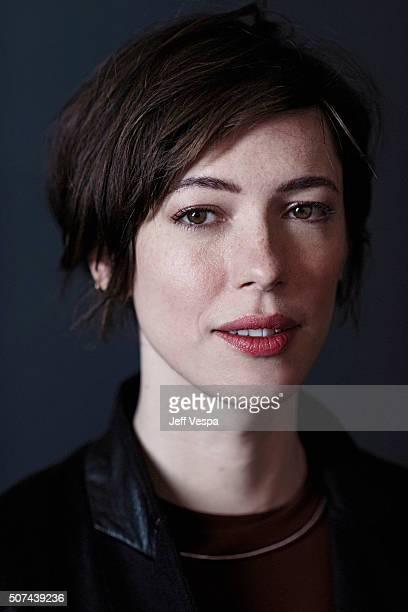 Actress Rebecca Hall of 'Christine' poses for a portrait at the 2016 Sundance Film Festival on January 23 2016 in Park City Utah