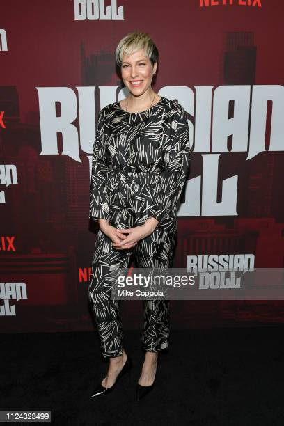 """Actress Rebecca Henderson attends Netflix's """"Russian Doll"""" Season 1 Premiere at Metrograph on January 23, 2019 in New York City."""
