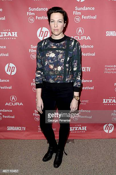 """Actress Rebecca Henderson attends the """"Mistress America"""" Premiere during the 2015 Sundance Film Festival at the Eccles Center Theatre on January 24,..."""
