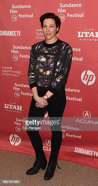 Actress Rebecca Henderson attends the 'Mistress America' Premiere during the 2015 Sundance Film Festival at the Eccles Center Theatre on January 24,...