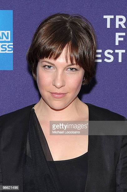 """Actress Rebecca Henderson attends the premiere of """"Meskada"""" during the 2010 Tribeca Film Festival at the Village East Cinema on April 22, 2010 in New..."""