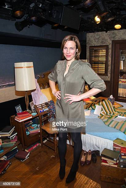 """Actress Rebecca Henderson attends the """"Too Much, Too Many, Too Much, Too Many"""" Opening Night at Roundabout Theatre Company on November 20, 2013 in..."""