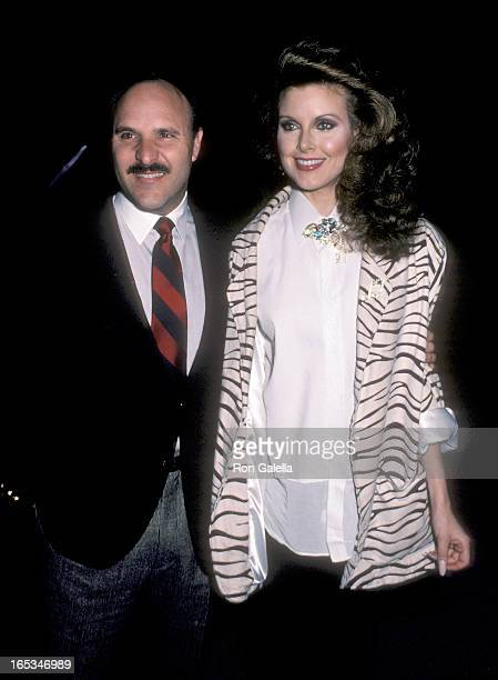 Actress Rebecca Holden and husband Bob Vassallo attend The Temptations' Music Video A Fine Mess Premiere Party on March 19 1986 at The Comedy Store...