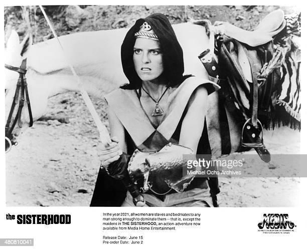 Actress Rebecca Holden in a scene of the movie The Sisterhood circa 1988
