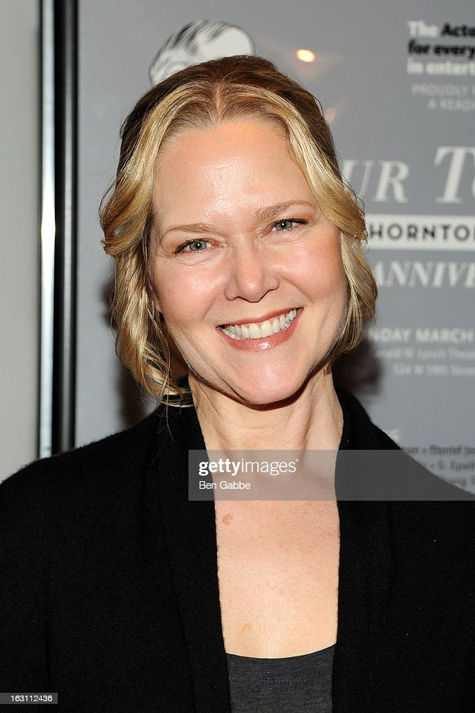 Actress Rebecca Luker attends 'Our Town' Benefit Performance at the Gerald W. Lynch Theatre on March 4, 2013 in New York City.