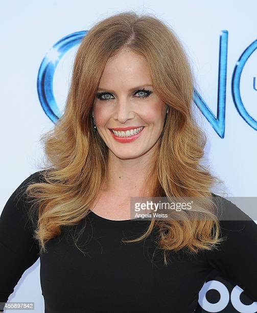 """Actress Rebecca Mader attends ABC's """"Once Upon A Time"""" Season 4 red carpet premiere at the El Capitan Theatre on September 21, 2014 in Hollywood,..."""