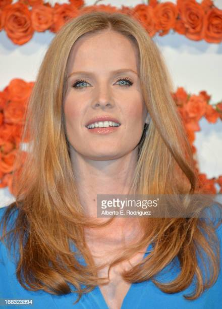 Actress Rebecca Mader attends the 3rd Annual Coach Evening to benefit Children's Defense Fund at Bad Robot on April 10 2013 in Santa Monica California