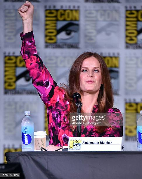 Actress Rebecca Mader attends TV Guide Magazine's Fan Favorites during Comic Con 2016 at San Diego Convention Center on July 22 2016 in San Diego...