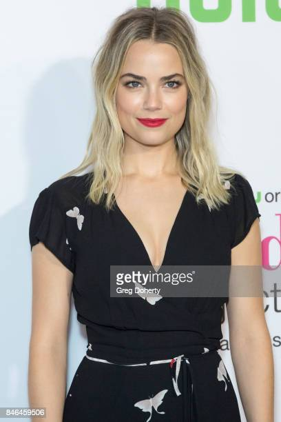 Actress Rebecca Rittenhouse arrives for Hulu's The Mindy Project Final Season Premiere Party at The London West Hollywood on September 12 2017 in...