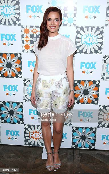 Actress Rebecca Rittenhouse attends the Fox Summer TCA AllStar party held at the SOHO house on July 20 2014 in West Hollywood California