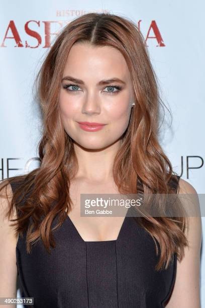 Actress Rebecca Rittenhouse attends the Gersh New York Upfronts Party at Asellina at the Gansevoort on May 13 2014 in New York City