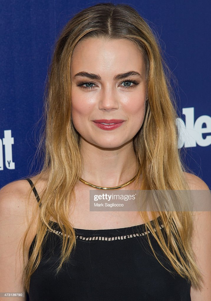 actress rebecca rittenhouse attends the new york upfronts party photo d 39 actualit getty images. Black Bedroom Furniture Sets. Home Design Ideas