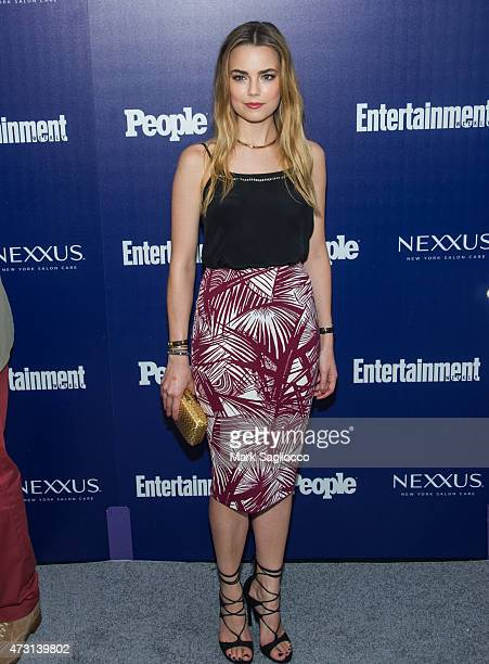Actress Rebecca Rittenhouse attends the New York Upfronts Party Hosted by People and Entertainment Weekly at The Highline Hotel on May 11 2015 in New...