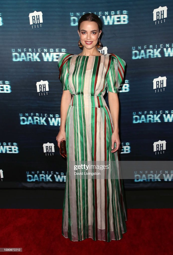 "Premiere Of Blumhouse Productions And Universal Pictures' ""Unfriended: Dark Web"" - Arrivals"