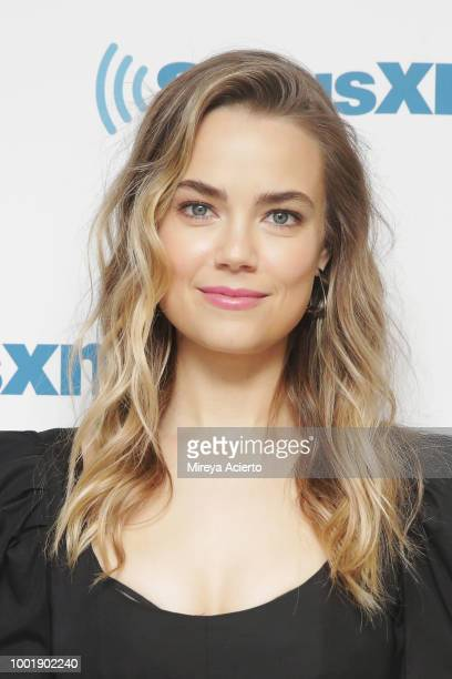 Actress Rebecca Rittenhouse visits SiriusXM Studios on July 19 2018 in New York City