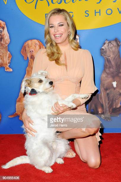 Actress Rebecca Romijn arrives at 2018 American Rescue Dog Show on January 7 2018 in Beverly Hills California