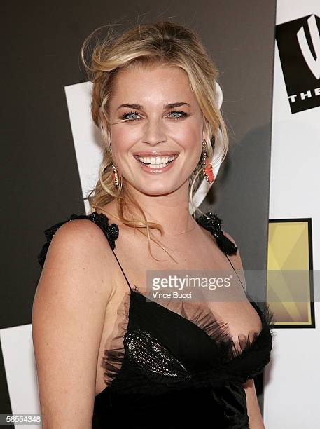 Actress Rebecca Romijn arrives at the 11th Annual Critics' Choice Awards held at the Santa Monica Civic Auditorium on January 9, 2006 in Santa...