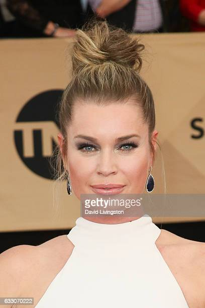 Actress Rebecca Romijn attends the 23rd Annual Screen Actors Guild Awards at The Shrine Expo Hall on January 29 2017 in Los Angeles California