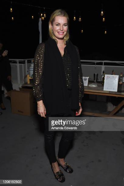 Actress Rebecca Romijn attends the Jane Club X Kendra Scott A Celebration Of Sisterhood event at The Jane Club on February 13 2020 in Los Angeles...
