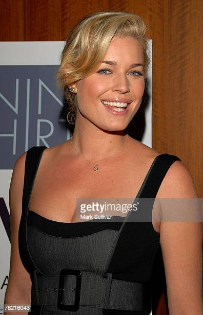 Actress Rebecca Romijn attends the Los Angeles Confidential private luncheon at W Los Angeles Westood to celebrate covergirl Rebecca Romijn on...