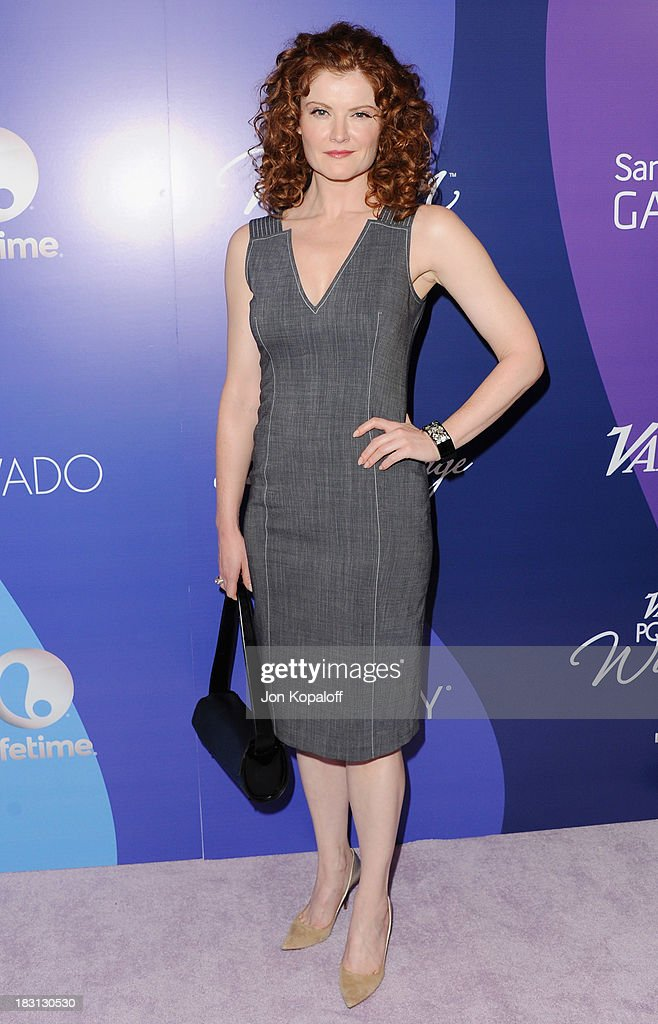 Actress Rebecca Wisocky arrives at Variety's 5th Annual Power Of Women Event at the Beverly Wilshire Four Seasons Hotel on October 4, 2013 in Beverly Hills, California.