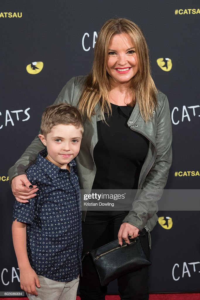 Actress Rebekah Elmaloglou arrives ahead of CATS Opening Night at Regent Theatre on December 20, 2015 in Melbourne, Australia.