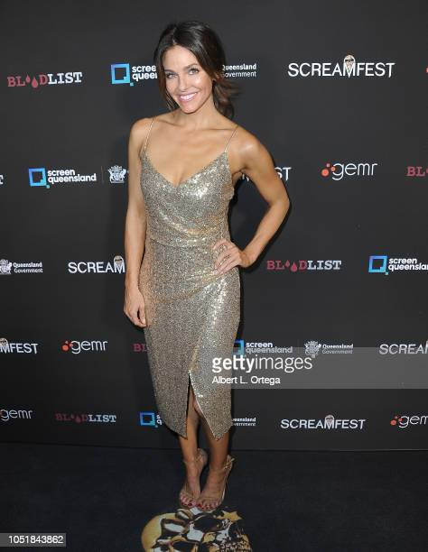 Actress Rebekah Graf arrives for the Screamfest LA Opening Night Screening Of 'The Amityville Murders' at TCL Chinese 6 Theatres on October 9 2018 in...
