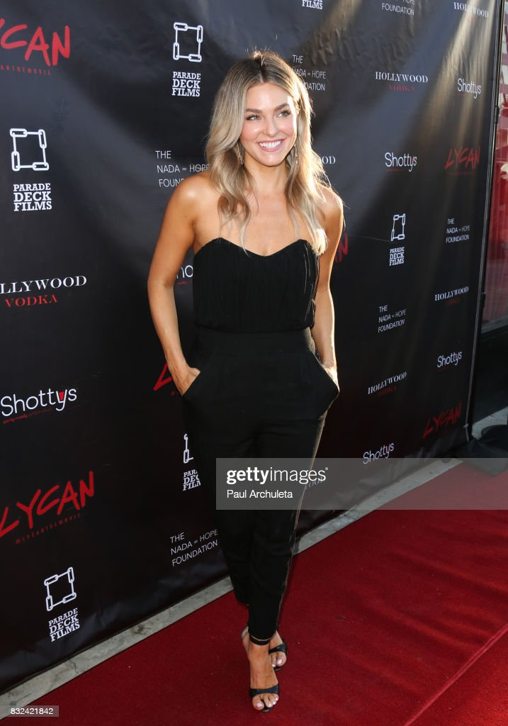 Actress Rebekah Graf attends the premiere of 'Lycan' at Laemmle's Ahrya Fine Arts Theatre on August 15, 2017 in Beverly Hills, California.