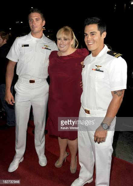 Actress Rebel Wilson arrives at the premiere of Universal Pictures And Gold Circle Films' Pitch Perfect at ArcLight Cinemas on September 24 2012 in...