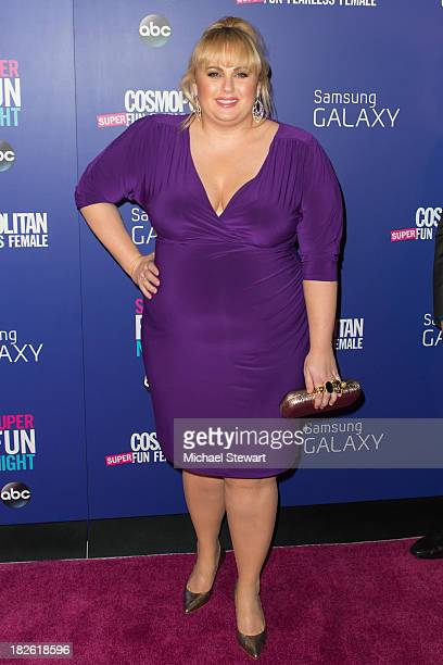 Actress Rebel Wilson attends Cosmopolitan's Super Fun Night With Rebel Wilson And Joanna Coles at Hearst Tower on October 1 2013 in New York City