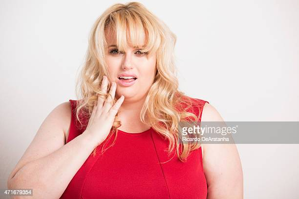Actress Rebel Wilson for Los Angeles Times on April 9 2015 in Hollywood California PUBLISHED IMAGE CREDIT MUST READ Ricardo DeAratanha/Los Angeles...