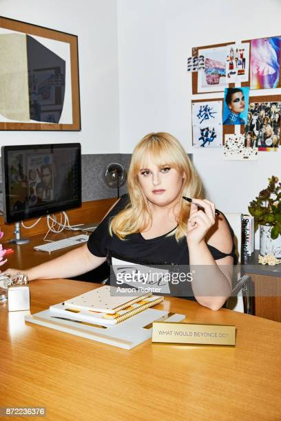 Actress Rebel Wilson is photographed for People Style Watch Magazine on July 3 2017 at the People Style Watch offices in New York City PUBLISHED IMAGE