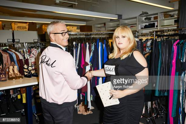 Actress Rebel Wilson is photographed for People Style Watch Magazine on July 3 2017 at the People Style Watch offices in New York City