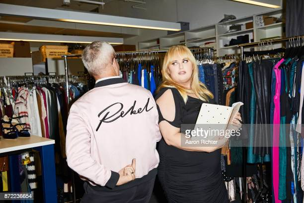 Actress Rebel Wilson is photographed for People Style Watch Magazine on July 3, 2017 at the People Style Watch offices in New York City. PUBLISHED...