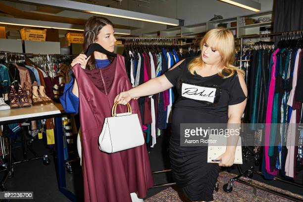 Actress Rebel Wilson is photographed with fashion editor Ashley Kiely for People Style Watch Magazine on July 3, 2017 at the People Style Watch...