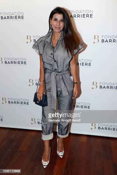 Actress Reem Kherici attends 'Les Chatouilles' Premiere hosted by Fondation Diane Lucien Barriere at Drugstore Publicis Cinema on September 17 2018...