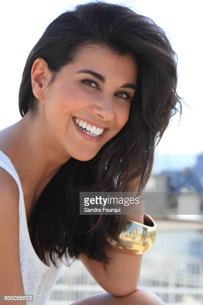 Actress Reem Kherici is photographed for Self Assignment on May 1 2013 in Paris France