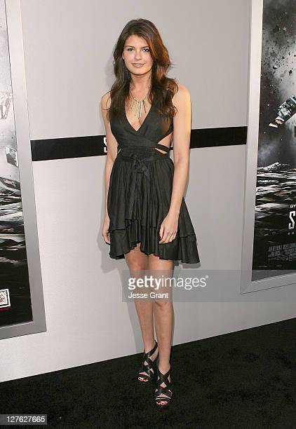 Actress Reese Lasher arrives at the Source Code Los Angeles Premiere held at ArcLight Cinemas on March 28 2011 in Hollywood California