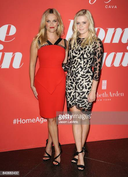 Actress Reese Witherspoon and daughter Ava Elizabeth Phillippe attend the premiere of 'Home Again' at Directors Guild of America on August 29 2017 in...