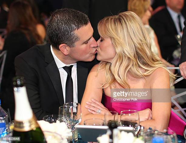 Actress Reese Witherspoon and Jim Toth attend the 20th annual Critics' Choice Movie Awards at the Hollywood Palladium on January 15 2015 in Los...