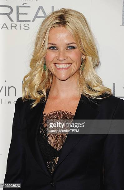 Actress Reese Witherspoon arrives at ELLE's 18th Annual Women in Hollywood Tribute held at the Four Seasons Hotel on October 17, 2011 in Los Angeles,...
