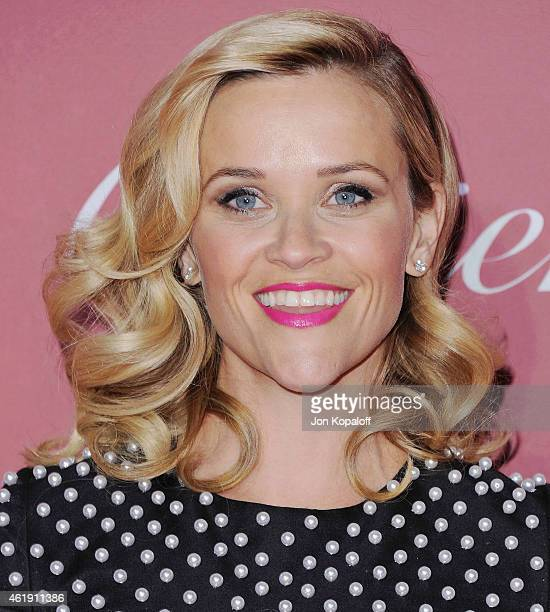 Actress Reese Witherspoon arrives at the 26th Annual Palm Springs International Film Festival Awards Gala Presented By Cartier at Palm Springs...