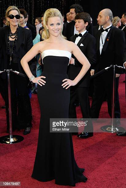 Actress Reese Witherspoon arrives at the 83rd Annual Academy Awards held at the Kodak Theatre on February 27 2011 in Hollywood California