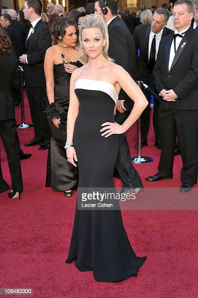 Actress Reese Witherspoon arrives at the 83rd Annual Academy Awards held at the Kodak Theatre on February 27 2011 in Los Angeles California