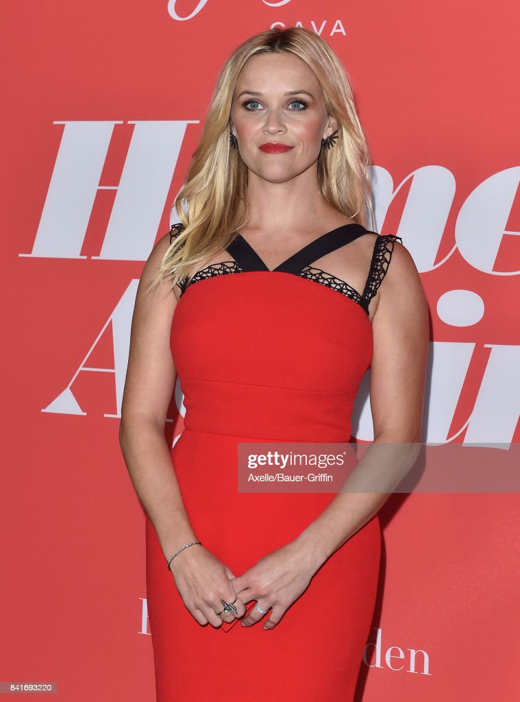 Actress Reese Witherspoon arrives at the premiere of 'Home Again' at Directors Guild of America on August 29, 2017 in Los Angeles, California.