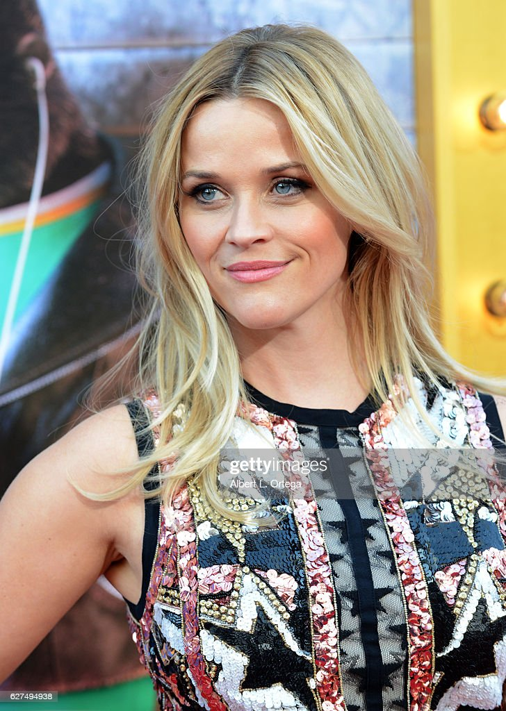 Actress Reese Witherspoon arrives at the Premiere Of Universal Pictures' 'Sing' held at Microsoft Theater on December 3, 2016 in Los Angeles, California.